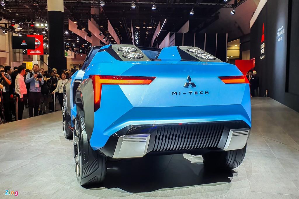 Mitsubishi Mi-Tech Concept - SUV mui tran khong co cua hinh anh 2