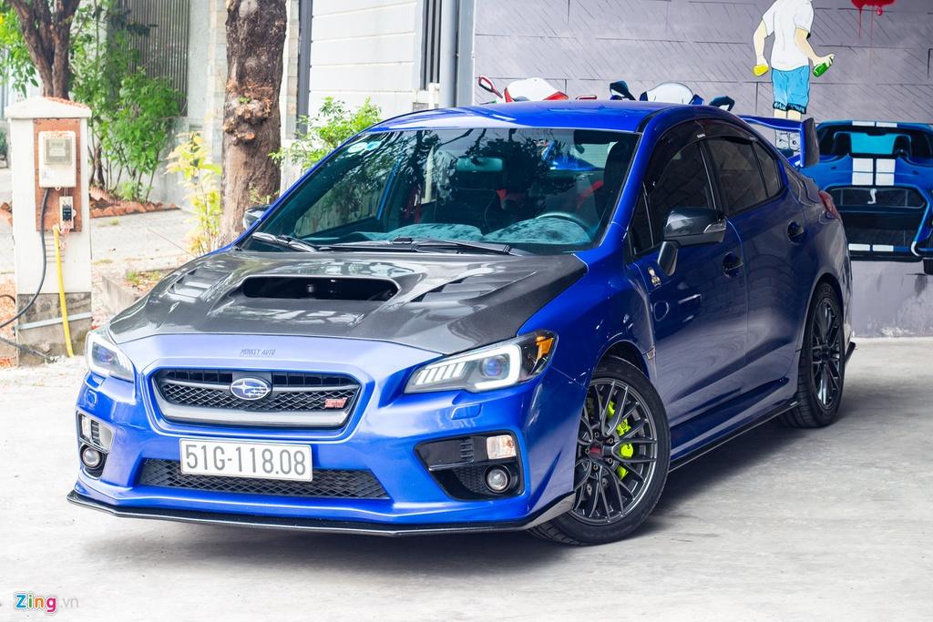Chu xe chi hon 1 ty dong do Subaru WRX STI len 500 ma luc tai TP.HCM hinh anh 1 IMG_9525_zing.jpg