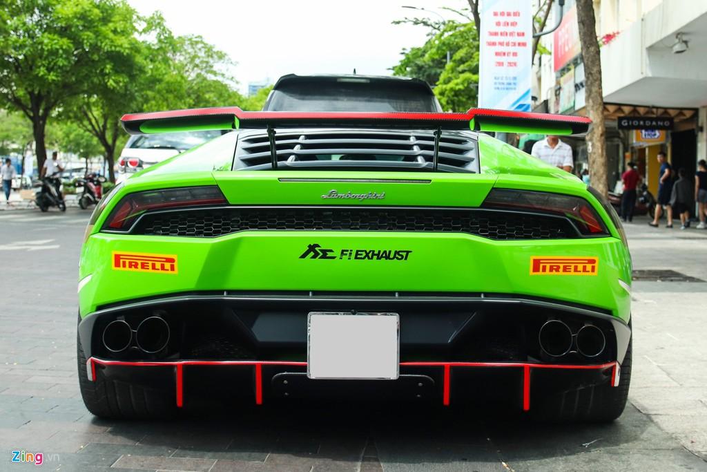Lamborghini Huracan khoac ao xe dua GT3 tai TP.HCM hinh anh 4