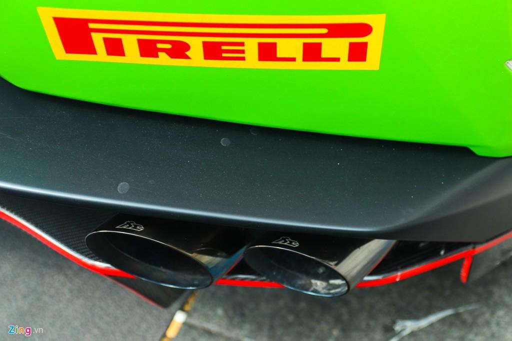 Lamborghini Huracan khoac ao xe dua GT3 tai TP.HCM hinh anh 8