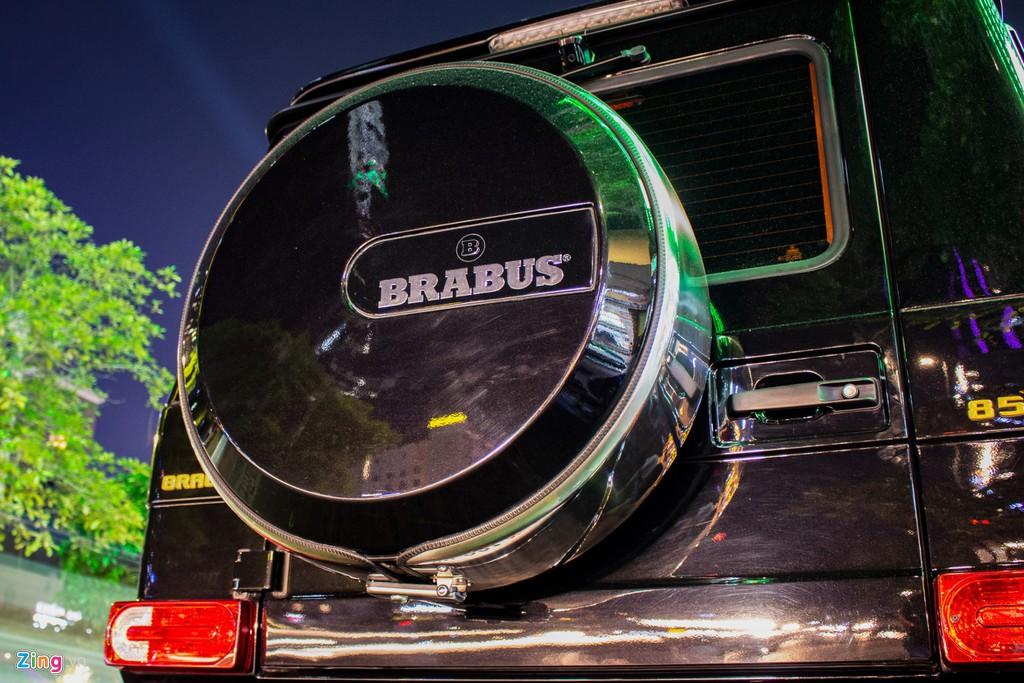 Can canh hang doc Brabus G850 - ban nang cap cua Mercedes G-Class hinh anh 11