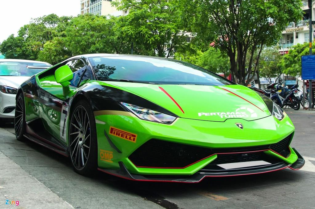 Nhung sieu xe do an tuong nhat Viet Nam, Lamborghini chiem da so hinh anh 6