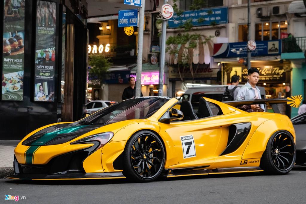 Nhung sieu xe do an tuong nhat Viet Nam, Lamborghini chiem da so hinh anh 3