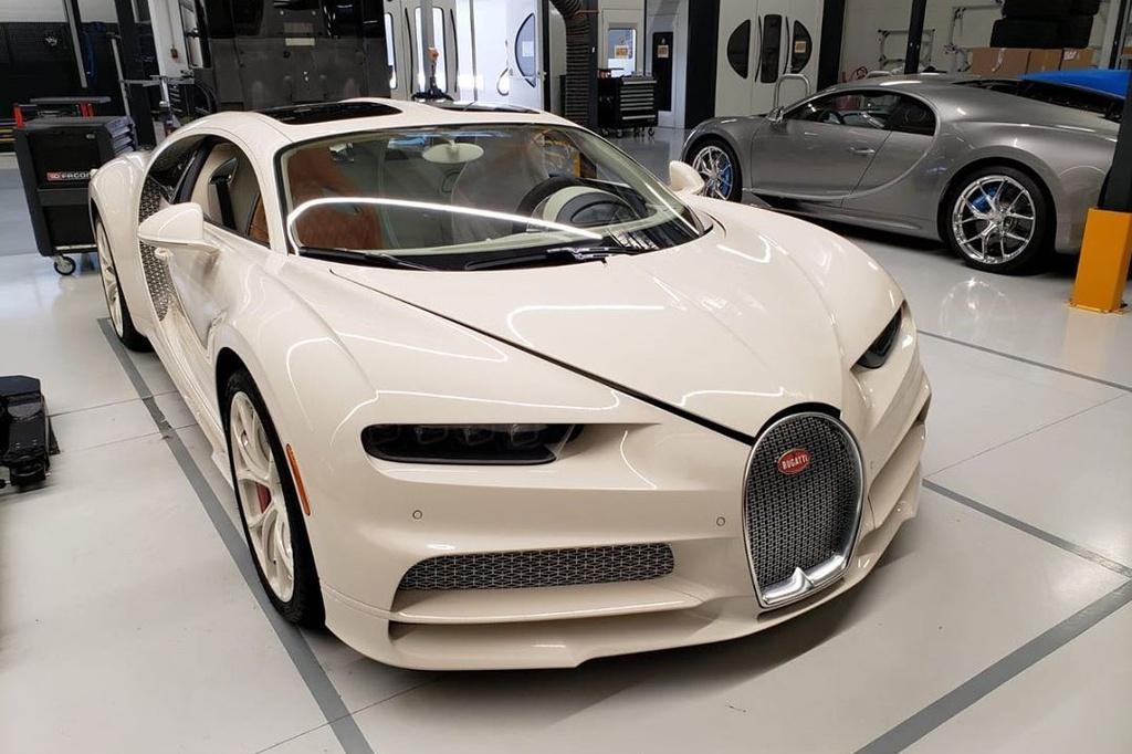 Ket hop voi Hermes, Bugatti ra mat chiec Chiron doc nhat the gioi hinh anh 7 Chiron7.jpg
