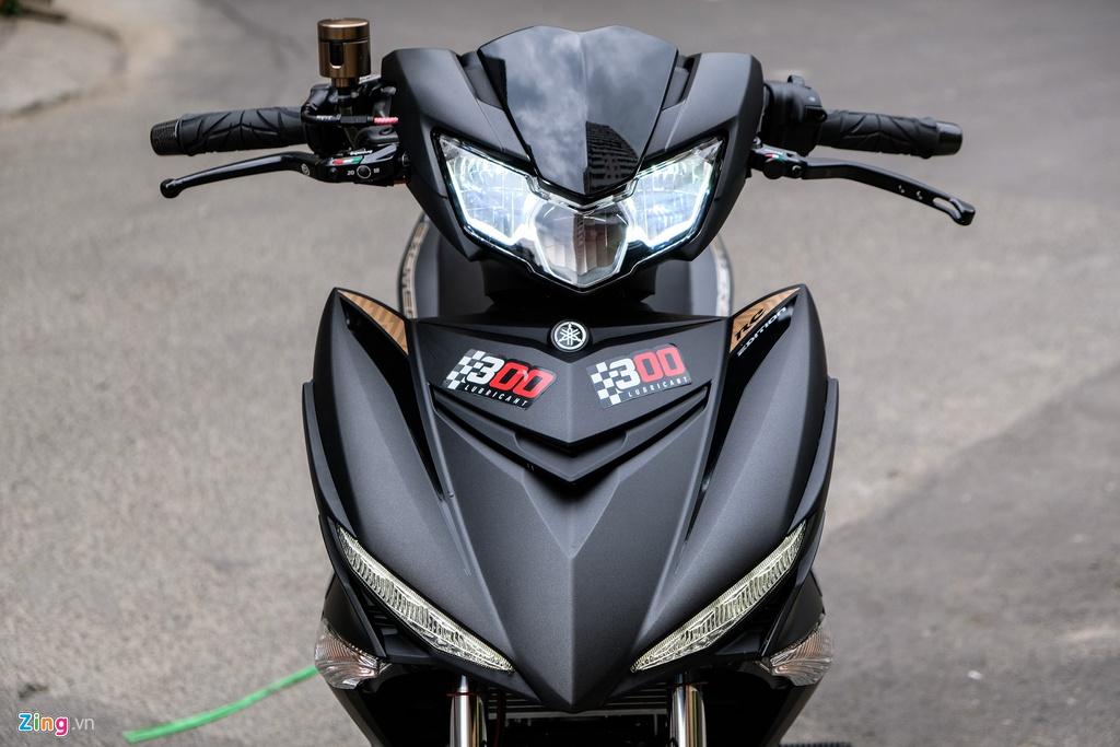Yamaha Exciter thay doi nhe nhang voi dan phu kien tram trieu hinh anh 3 Exciter_zing_25.jpg