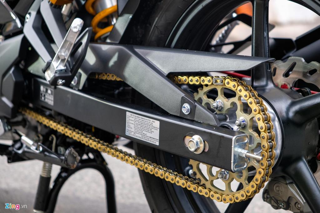 Yamaha Exciter thay doi nhe nhang voi dan phu kien tram trieu hinh anh 11 Exciter_zing_6.jpg