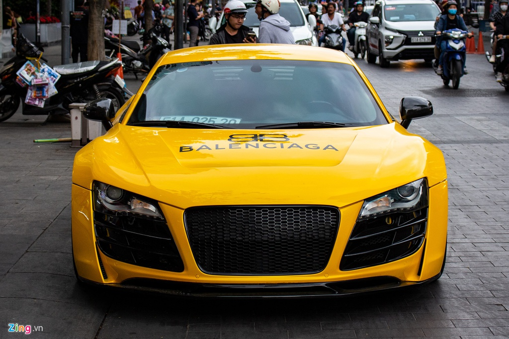 Audi R8 the he dau tien lot xac voi goi do tien ty tai TP.HCM hinh anh 4 IMG_3631_zing.jpg