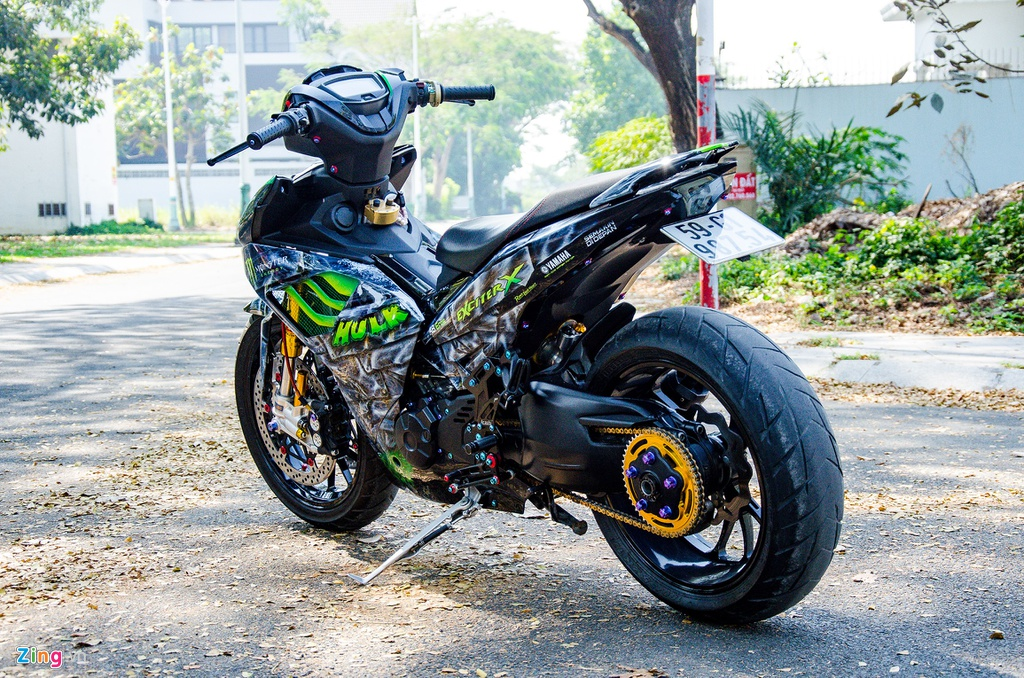 Yamaha Exciter do dan chan phan khoi lon ton hon 200 trieu dong hinh anh 14 DSC_1771_zing.jpg