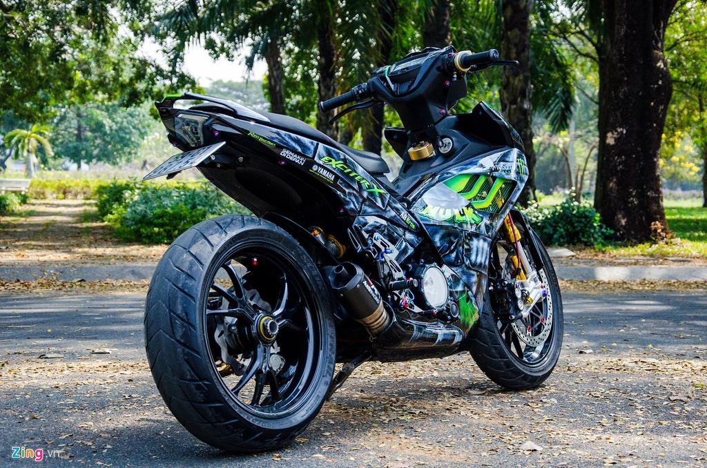 Yamaha Exciter do dan chan phan khoi lon ton hon 200 trieu dong hinh anh 2 DSC_1773_zing.jpg