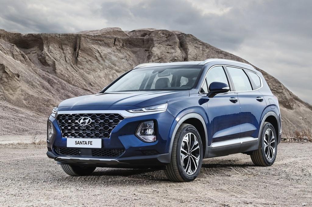 Hyundai Santa Fe doi dau Kia Sorento 2021 hinh anh 2 Hyundai_Santa_Fe_2019_1600_03.jpg