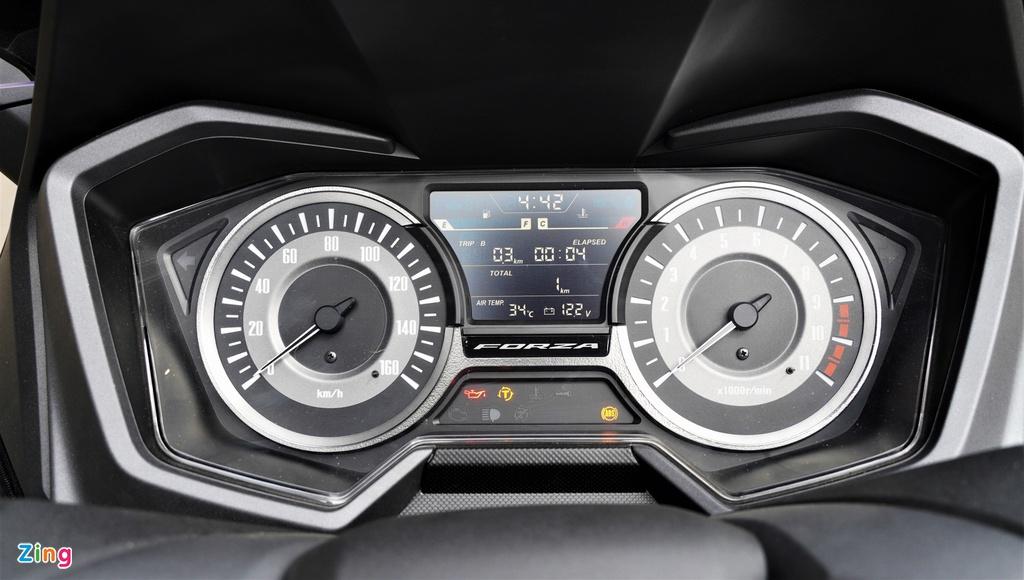 So sanh Forza 300 va SH 300i: Khac biet chu yeu o kieu dang hinh anh 5 7_Forza300_zing.jpg