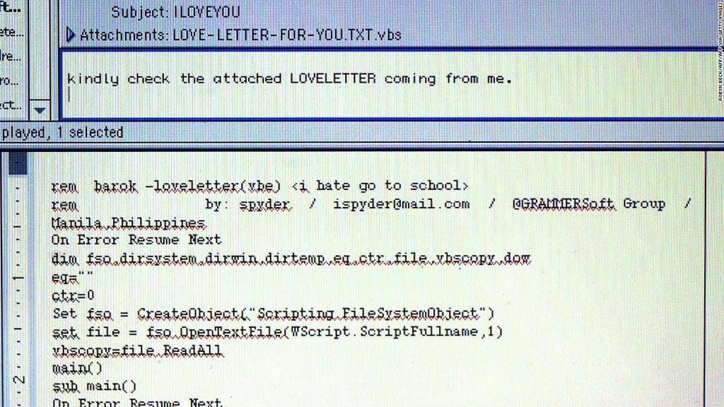 Hacker tung gay rung dong the gioi Internet nhung khong he bi di tu hinh anh 1 200402153041_iloveyou_virus_2000_super_169.jpg