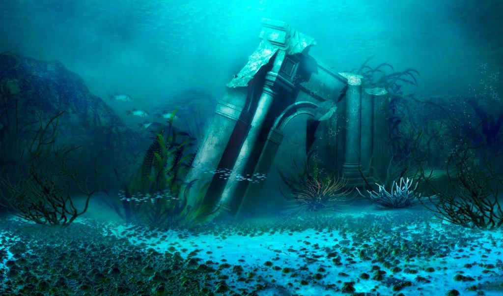 Huyen thoai ve thanh pho Atlantis mat tich duoi day bien hinh anh 2