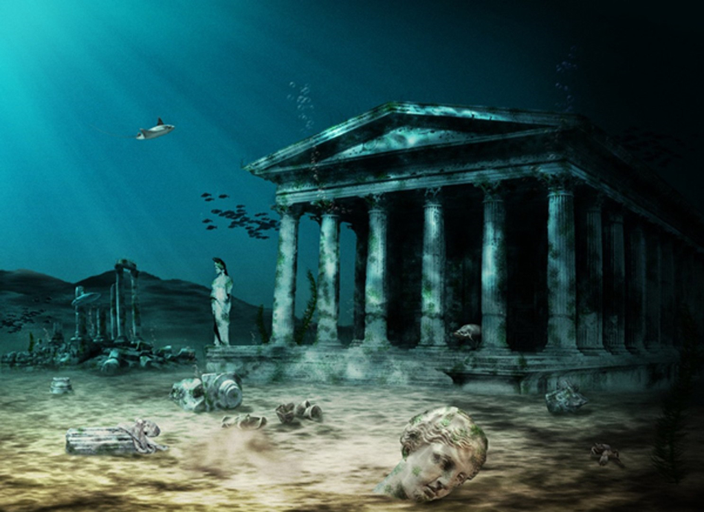 Huyen thoai ve thanh pho Atlantis mat tich duoi day bien hinh anh 4