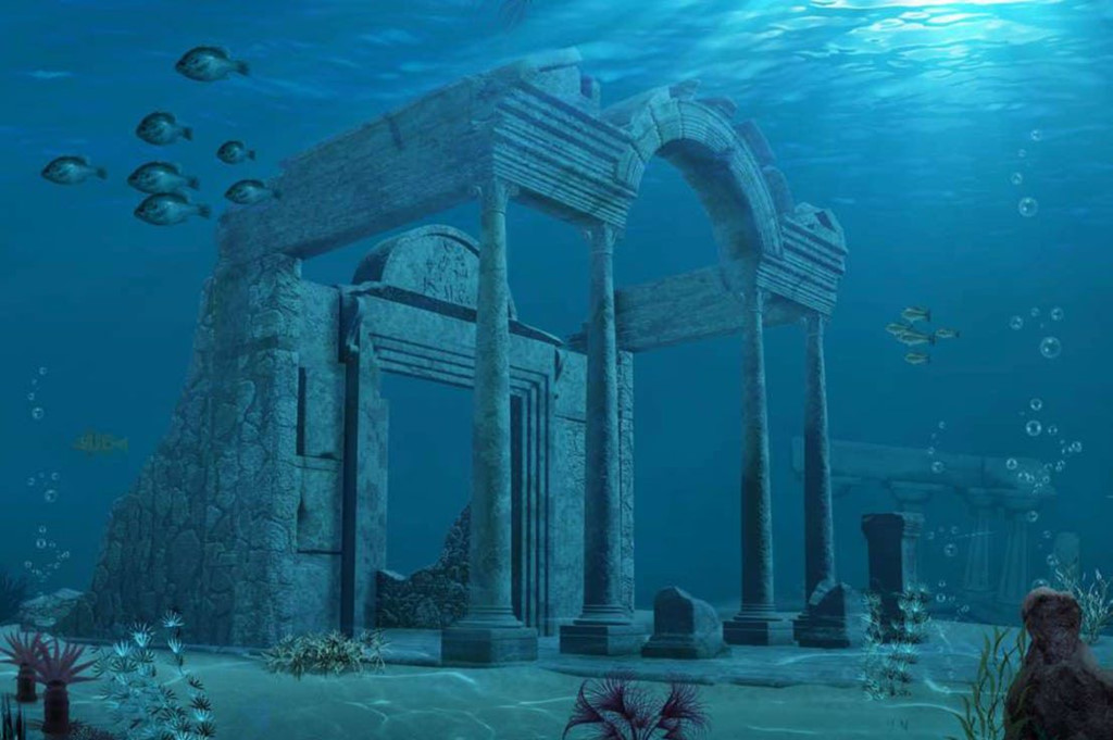Huyen thoai ve thanh pho Atlantis mat tich duoi day bien hinh anh 8
