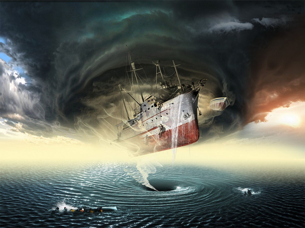 Hố khí địa ngục nhấn chìm tàu thuyền ở Tam giác quỷ Wallpaper_Access