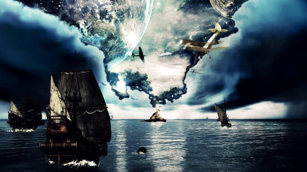 Hố khí địa ngục nhấn chìm tàu thuyền ở Tam giác quỷ Interpolezno