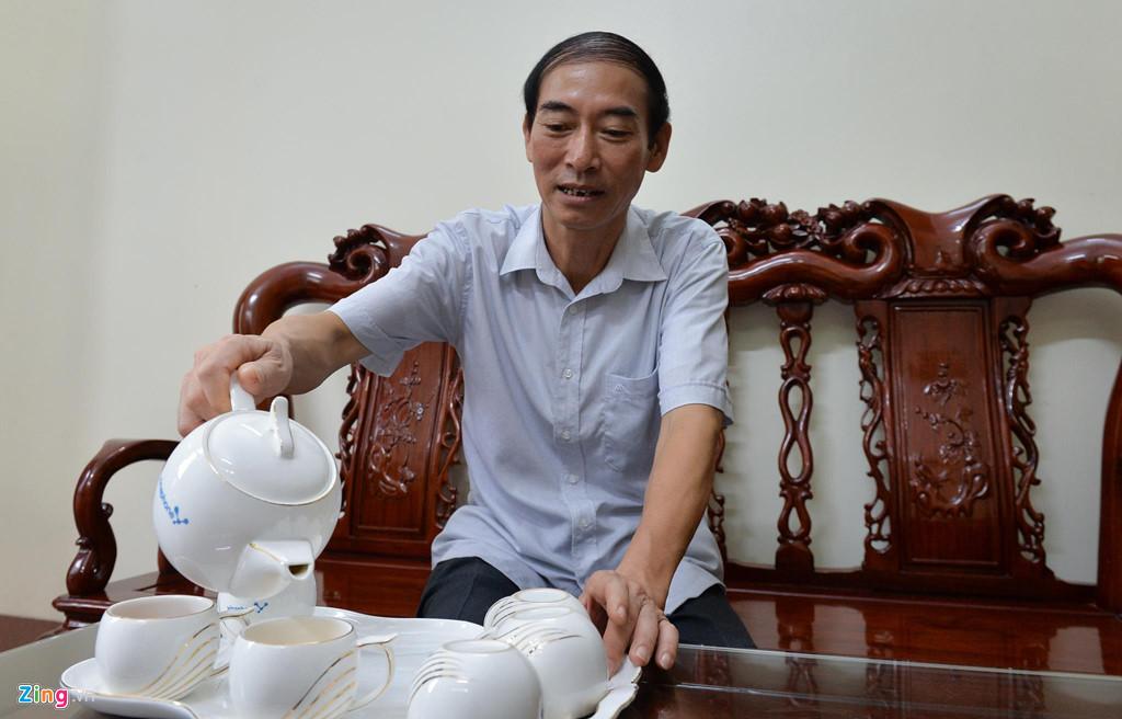Tham nha gia dinh Hoa hau Luong Thuy Linh o Cao Bang hinh anh 3