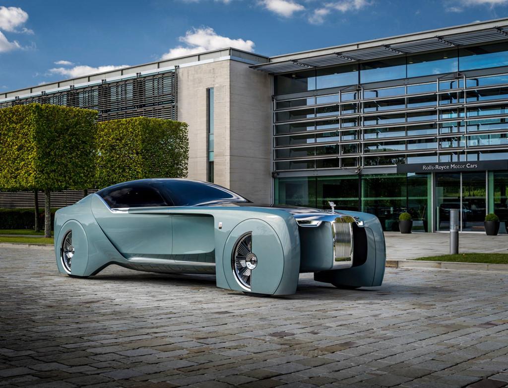 Xe dien tu lai cua Rolls-Royce nam 2035 se trong nhu the nao? hinh anh 3