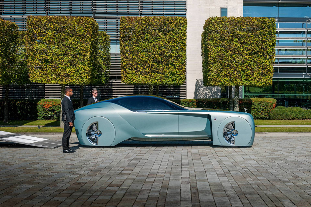Xe dien tu lai cua Rolls-Royce nam 2035 se trong nhu the nao? hinh anh 2
