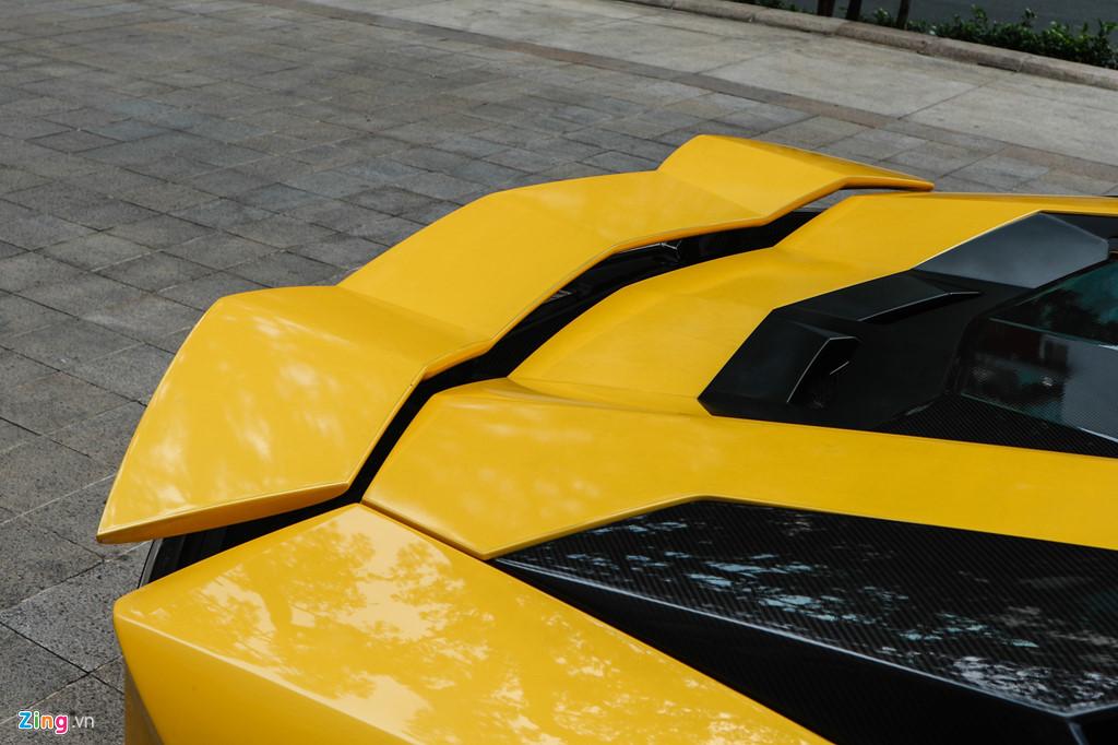 Lamborghini Aventador S nang cap ngoai hinh sau su co tai Car Passion hinh anh 8