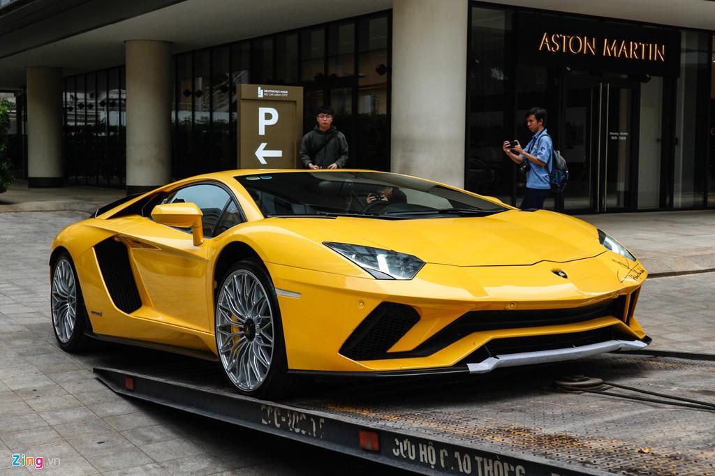 Lamborghini Aventador S nang cap ngoai hinh sau su co tai Car Passion hinh anh 11