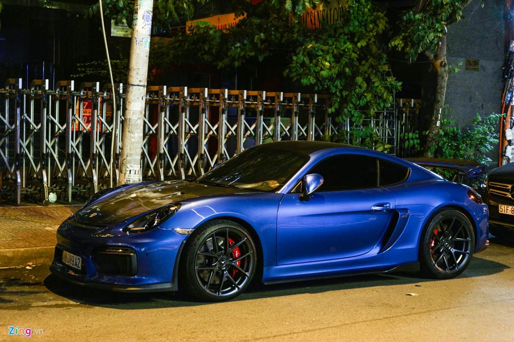 Can canh Porsche Cayman do phong cach xe dua o TP.HCM hinh anh 11