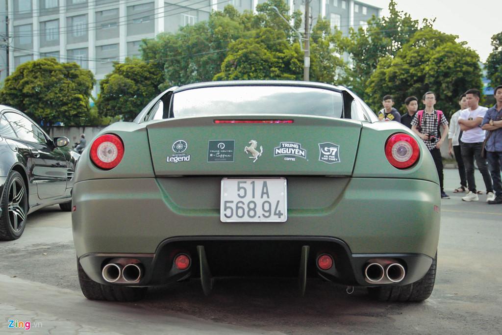 Ngam Ferrari 599 GTB duy nhat Viet Nam cua ong Dang Le Nguyen Vu hinh anh 4