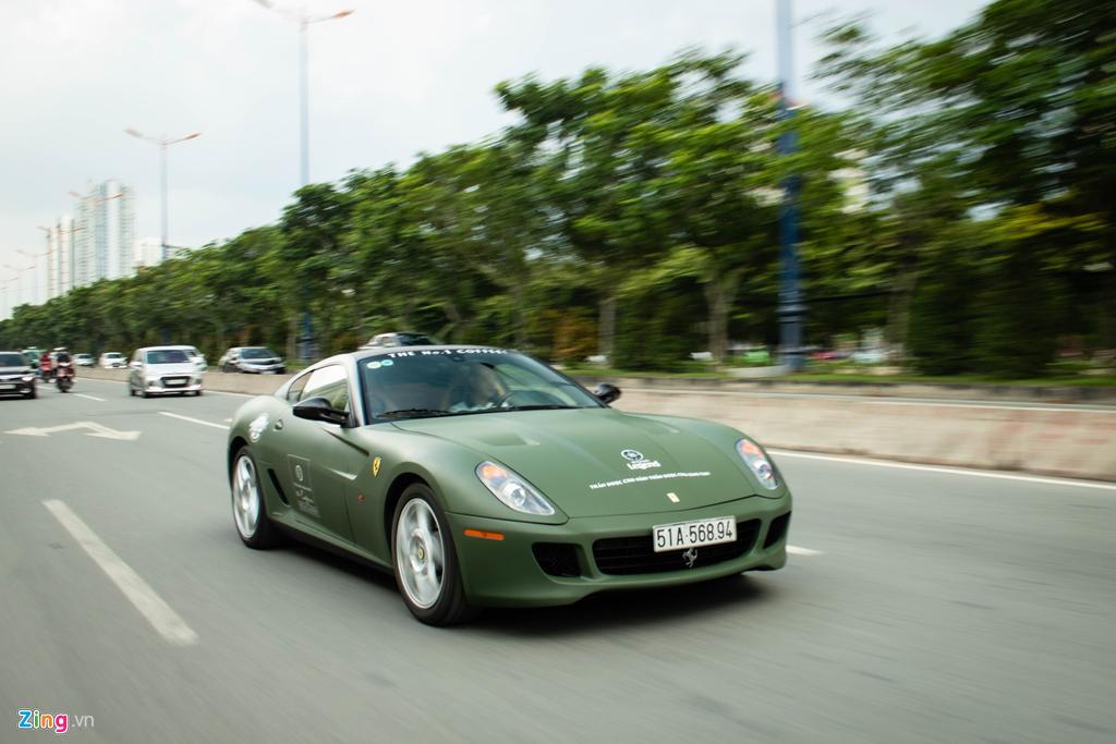 Ngam Ferrari 599 GTB duy nhat Viet Nam cua ong Dang Le Nguyen Vu hinh anh 8