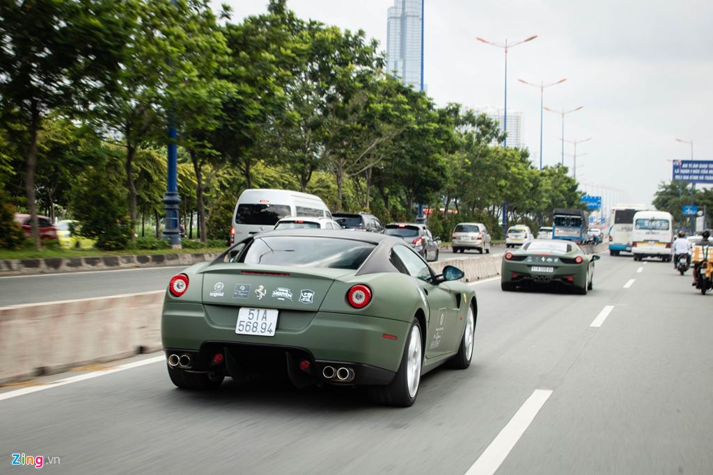 Ngam Ferrari 599 GTB duy nhat Viet Nam cua ong Dang Le Nguyen Vu hinh anh 9