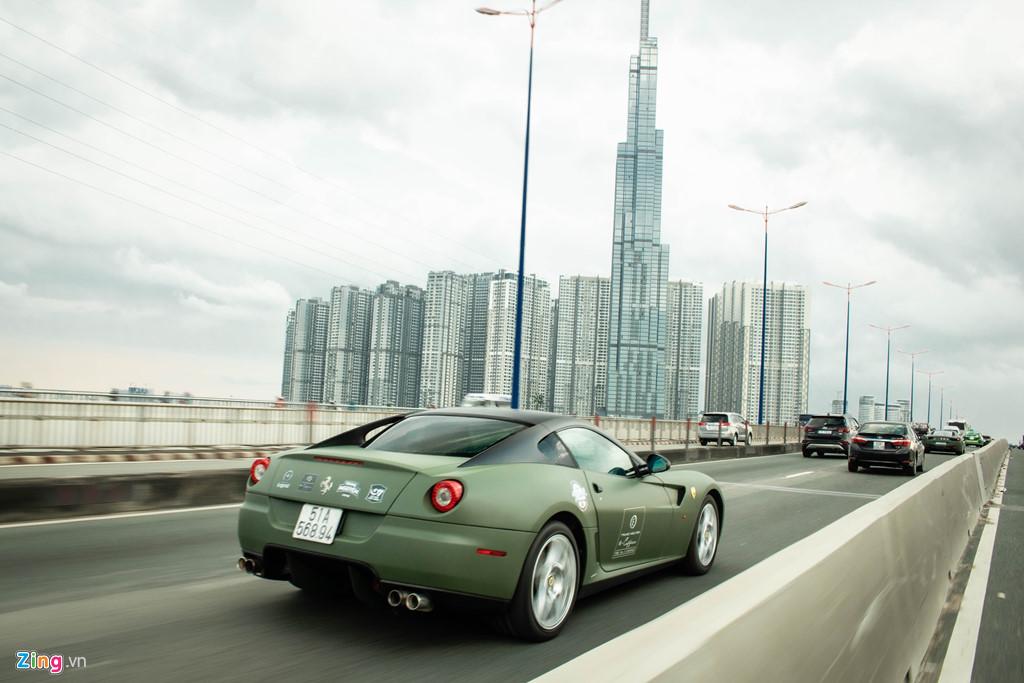 Ngam Ferrari 599 GTB duy nhat Viet Nam cua ong Dang Le Nguyen Vu hinh anh 7