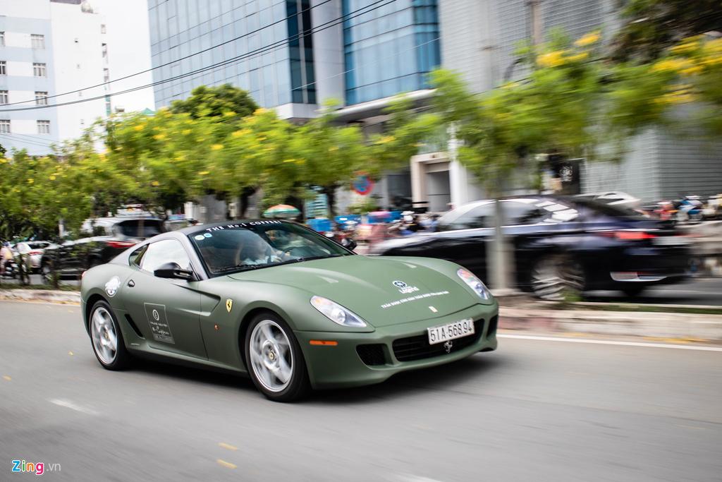 Ngam Ferrari 599 GTB duy nhat Viet Nam cua ong Dang Le Nguyen Vu hinh anh 10