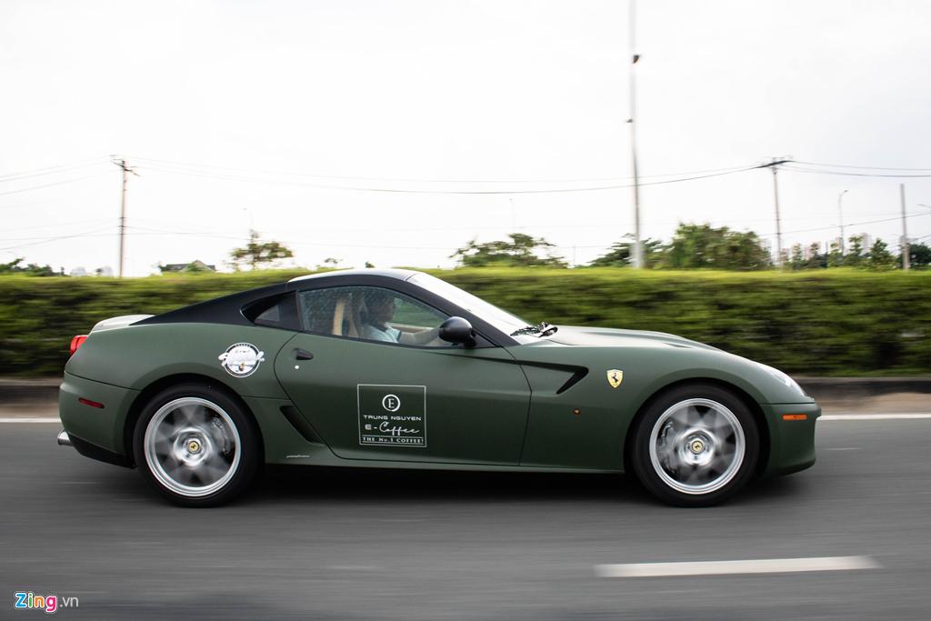 Ngam Ferrari 599 GTB duy nhat Viet Nam cua ong Dang Le Nguyen Vu hinh anh 11