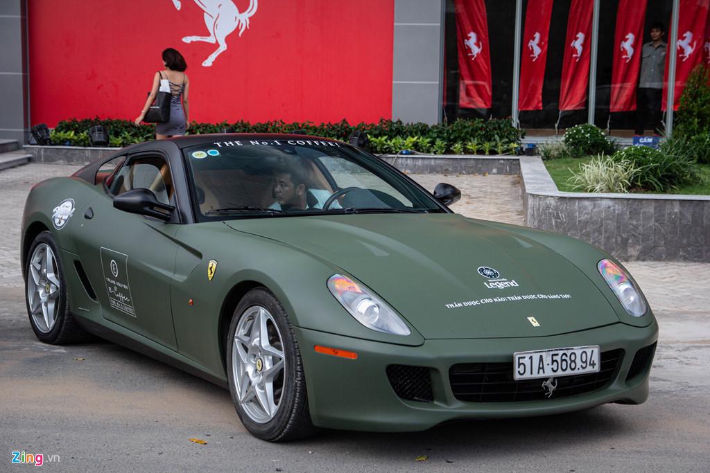 Ngam Ferrari 599 GTB duy nhat Viet Nam cua ong Dang Le Nguyen Vu hinh anh 1