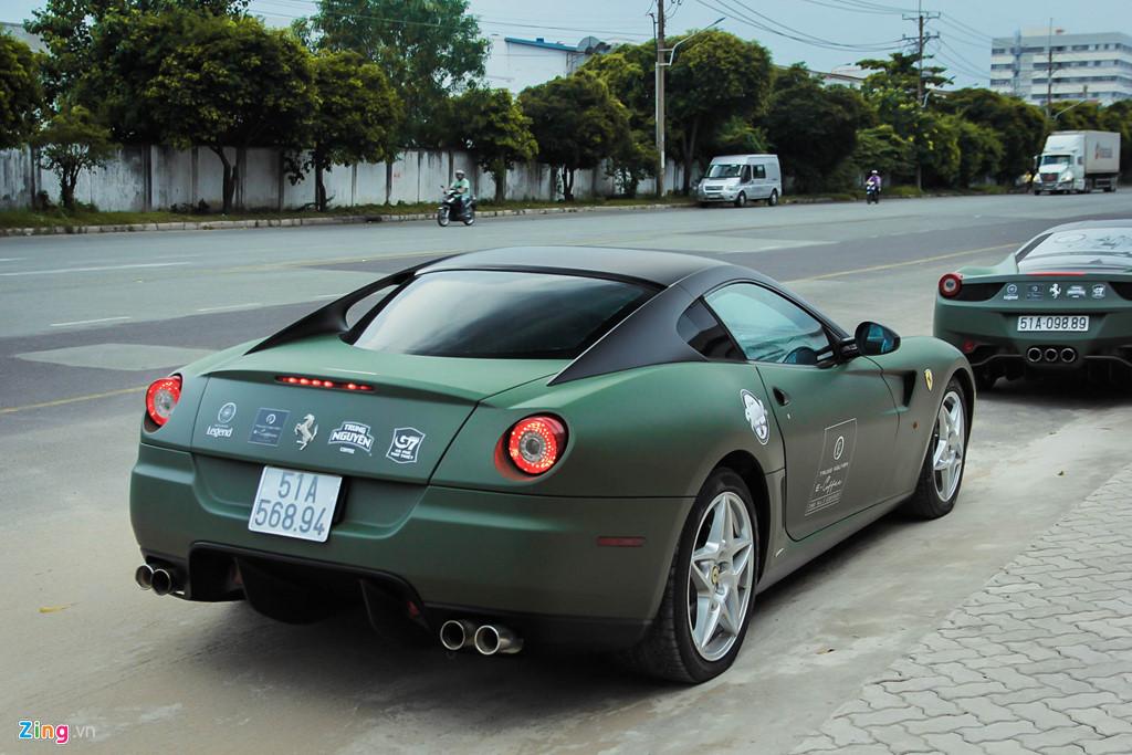 Ngam Ferrari 599 GTB duy nhat Viet Nam cua ong Dang Le Nguyen Vu hinh anh 5