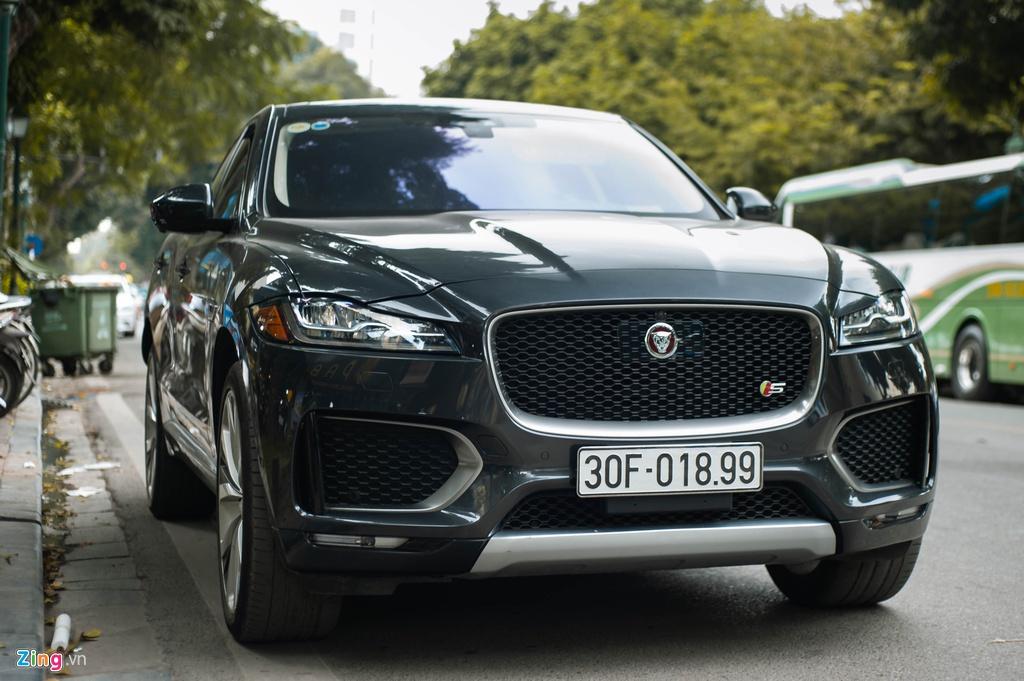 SUV hang sang Jaguar F-Pace S doc nhat VN xuat hien tren pho Ha Noi hinh anh 1 Jaguar_F_Page_SLine_zing_3_.jpg