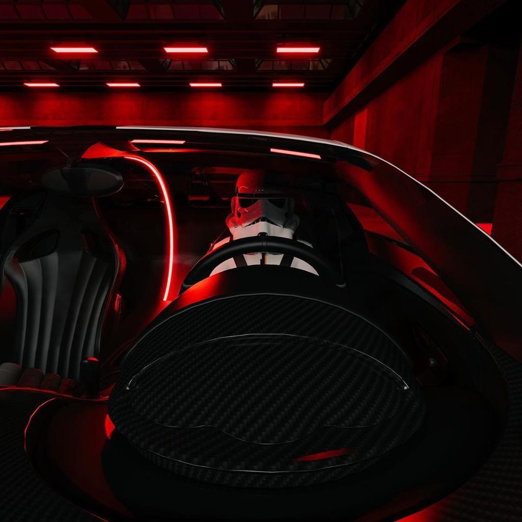 Bugatti Chiron Pur Sport do ngoai hinh phong cach Star War hinh anh 2 Bugatti_Chiron_Pur_Sport_2.jpg