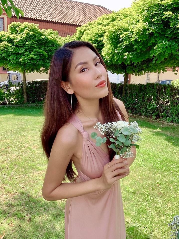 Top 5 Hoa hau Hoan vu Viet Nam - nguoi roi showbiz, nguoi cuoi dai gia hinh anh 11