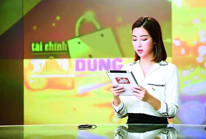 Hoa hau Do My Linh: 'Toi dang tam ngung viec o VTV' hinh anh 4 tien_phong_my_linh_qobd_1025.jpg