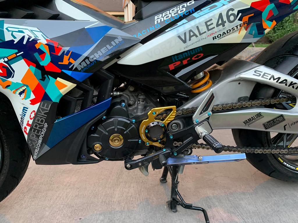 Yamaha Exciter 150 luc quy 1 o SG bien hinh thanh xe 'phan khoi lon' hinh anh 5