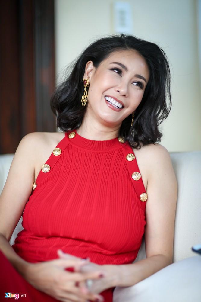 Ha Kieu Anh: 'Canh nong voi Chi Bao la quyet dinh tao bao cua toi' hinh anh 4
