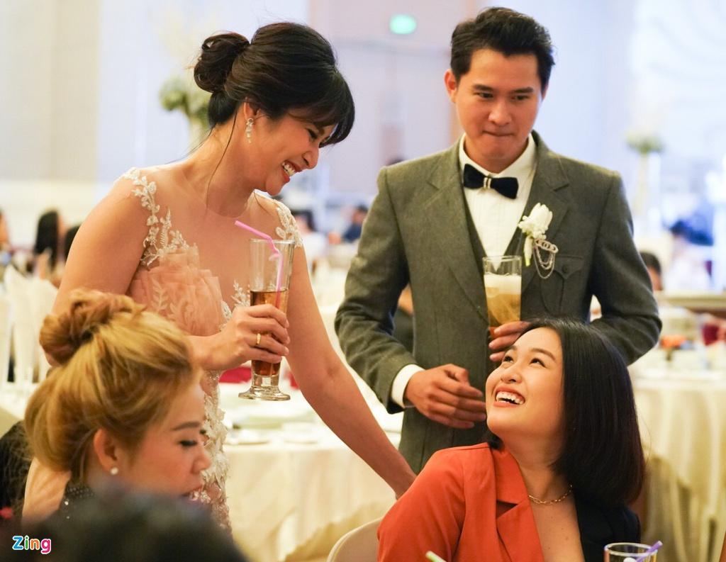 Thao Trang cuoi ban trai kem anh 4