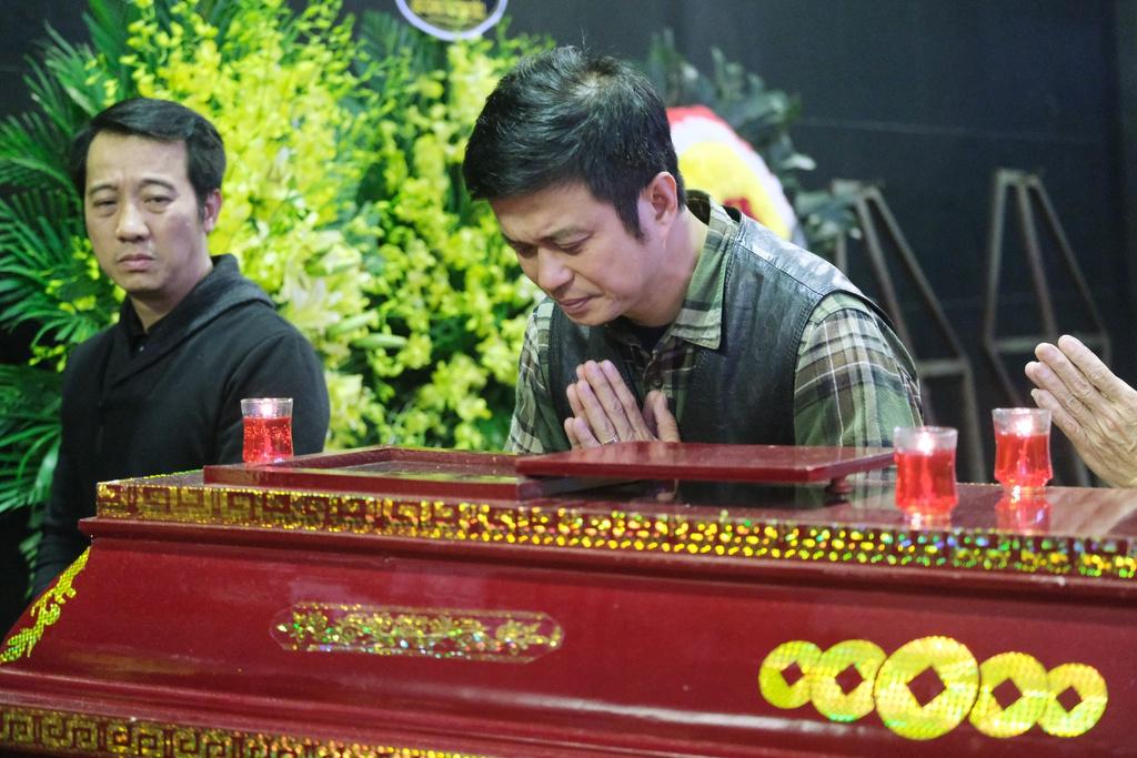 Xuan Bac, Bao Thanh va dong dao nghe si tien dua Truong Nhuan hinh anh 12 XXPT5952.JPG