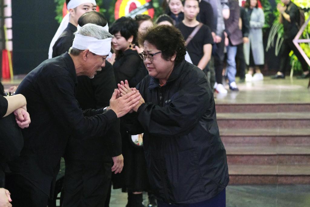 Xuan Bac, Bao Thanh va dong dao nghe si tien dua Truong Nhuan hinh anh 4 XXPT6073.JPG