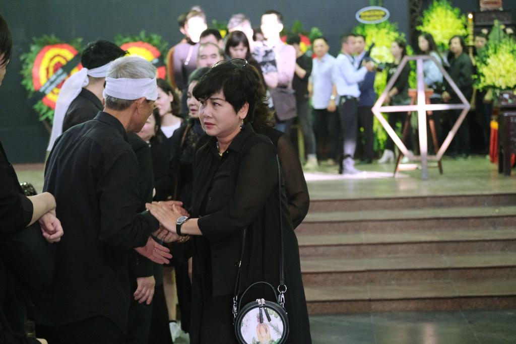 Xuan Bac, Bao Thanh va dong dao nghe si tien dua Truong Nhuan hinh anh 5 XXPT6089.JPG