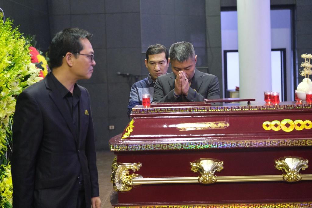 Xuan Bac, Bao Thanh va dong dao nghe si tien dua Truong Nhuan hinh anh 6 XXPT6540.JPG