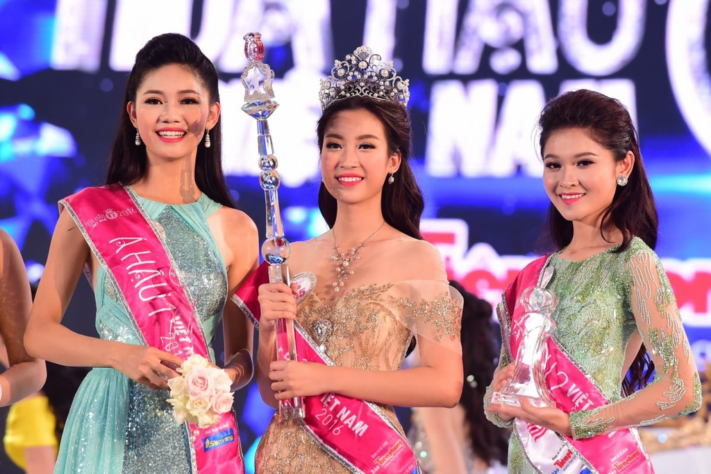 Hoa hau Viet Nam 2016 Do My Linh anh 1