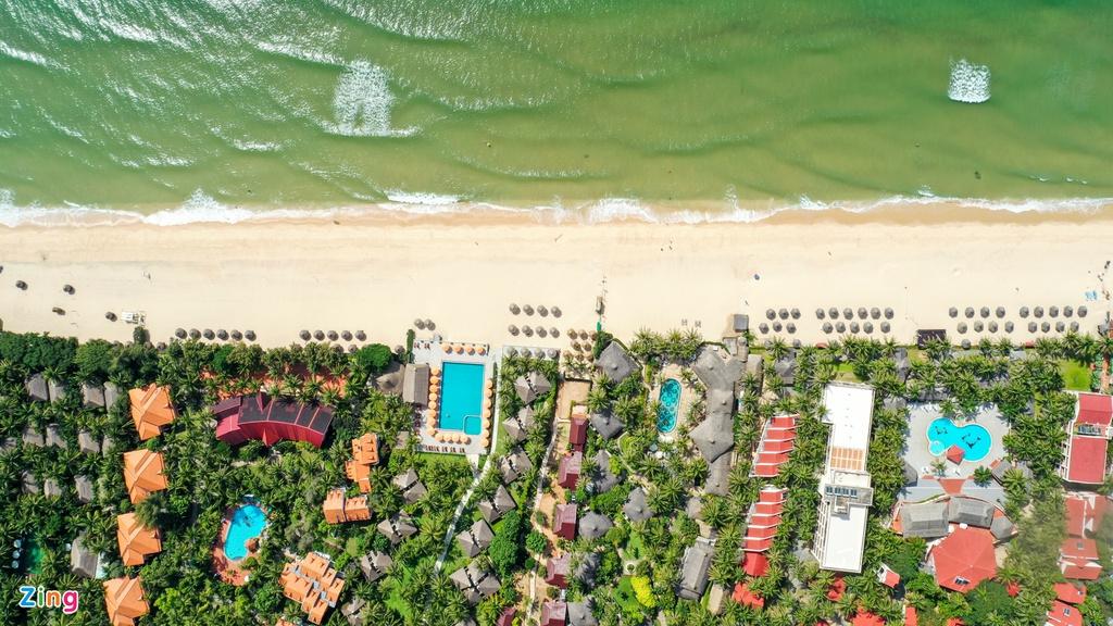 Hang loat resort dong cua im lim o Mui Ne anh 11