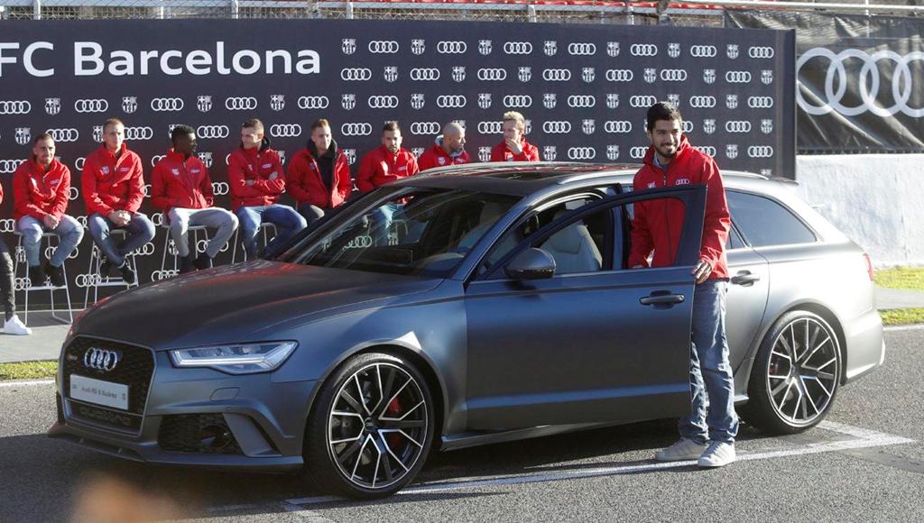 Duong ai nay di, Audi doi lai xe sang da tang cac cau thu Barcelona hinh anh 1