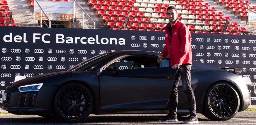 Duong ai nay di, Audi doi lai xe sang da tang cac cau thu Barcelona hinh anh 3